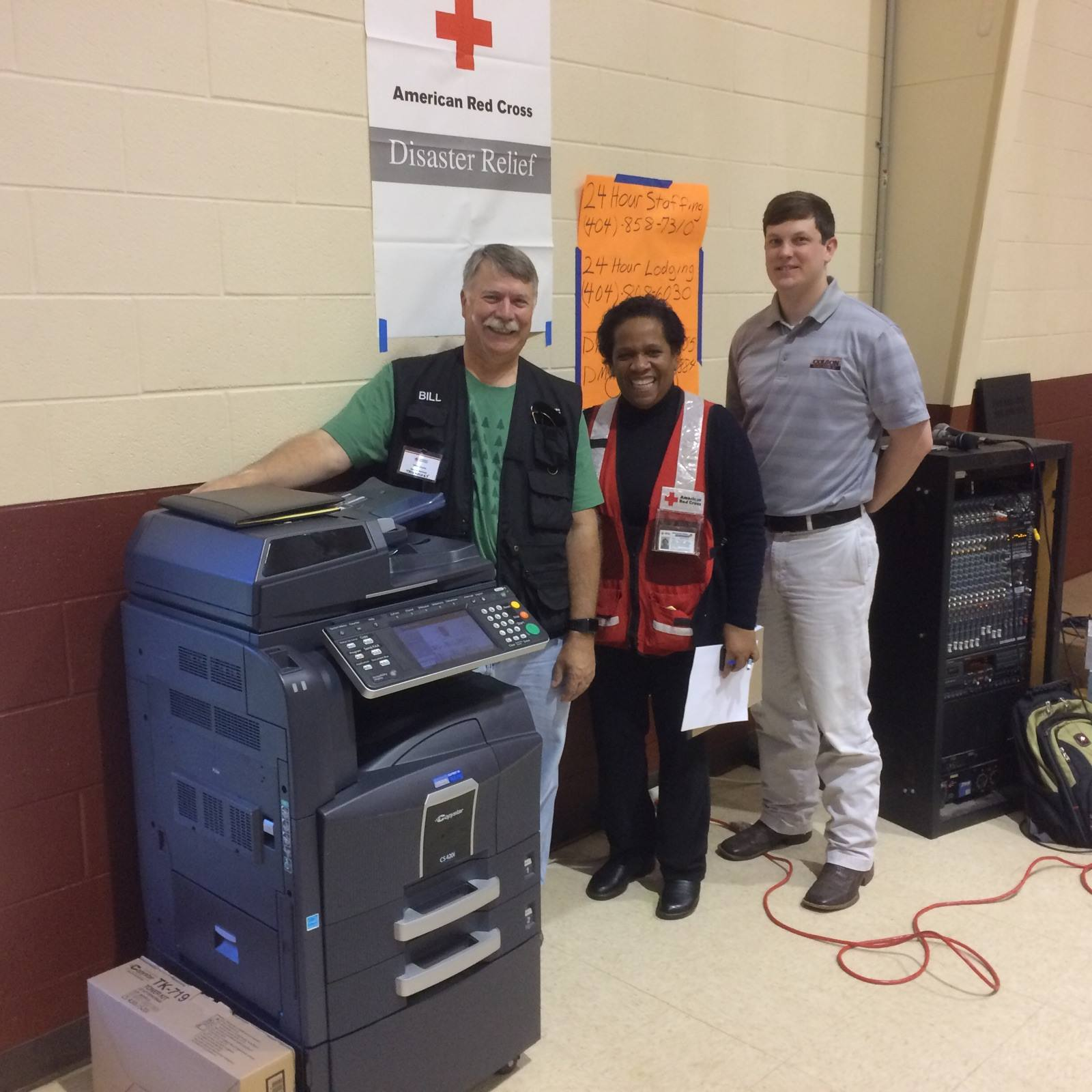 Colson Business Systems Donates to the Red Cross